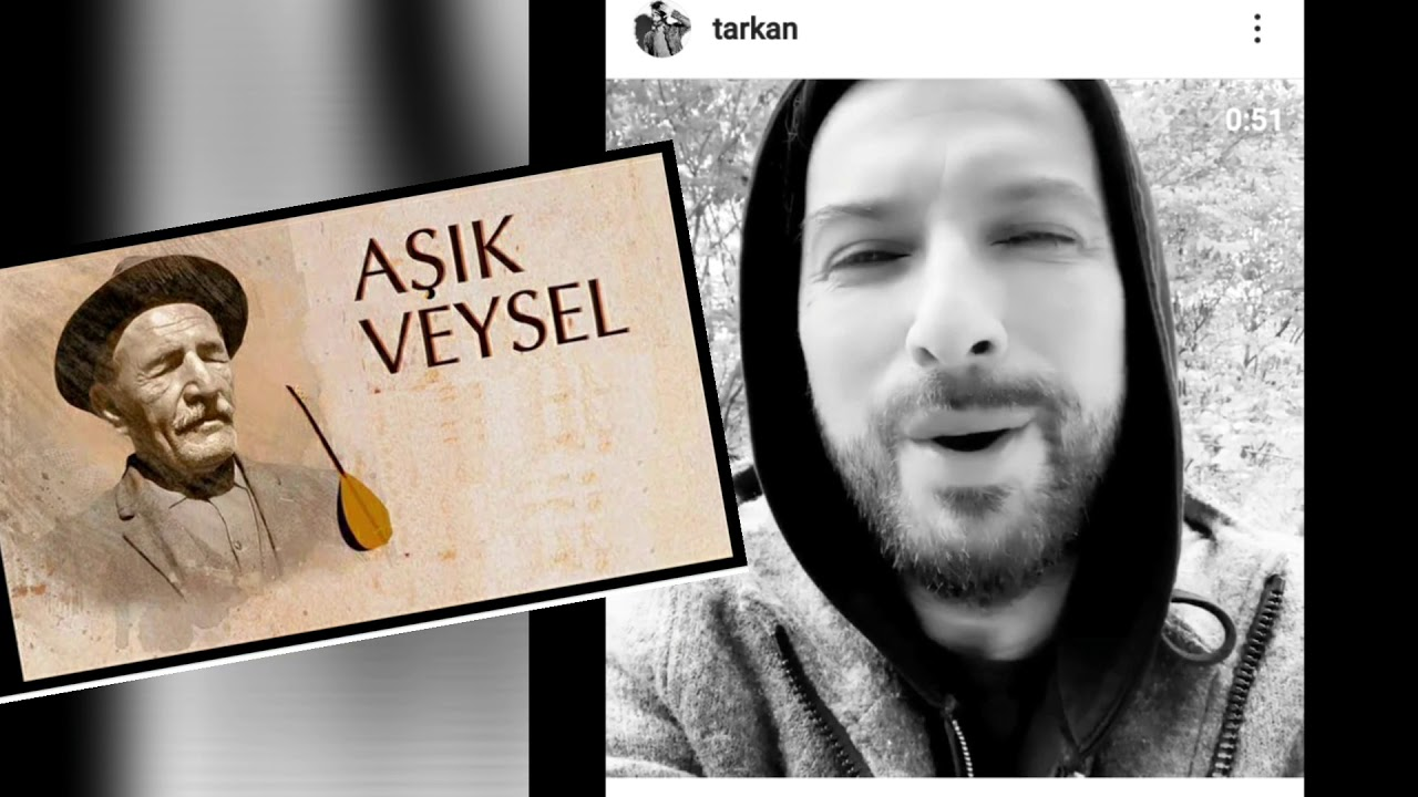 Tarkan Aşık Veysel'in Uzun İnce Bir Yoldayım Türküsünü Seslendirdi! İşte O Video…