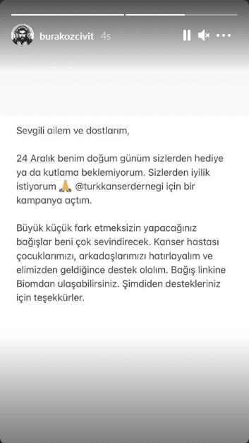 Burak Özçivit story