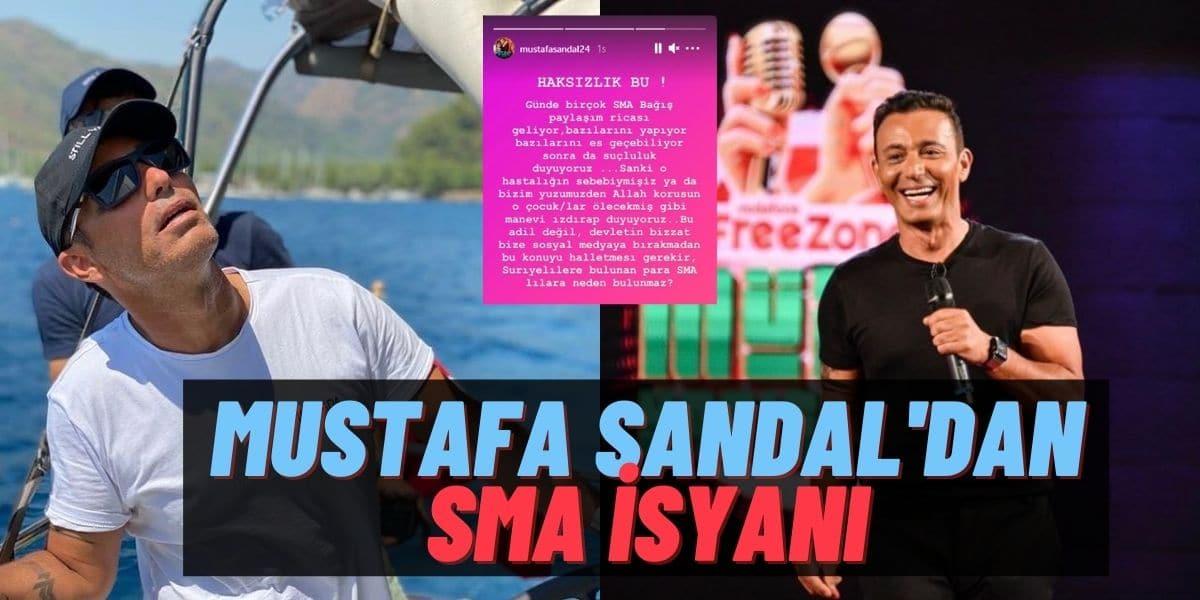 """Mustafa Sandal Instagram DM'den Gelen SMA Bağış Kampanyalarına İsyan Etti: """"Hastalığın Sebebiymişiz Gibi"""""""