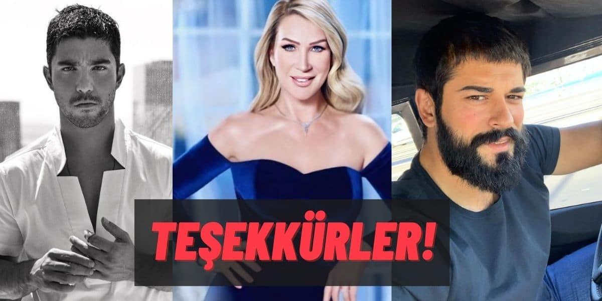 """Seda Sayan, Kaan Yıldırım ve Burak Özçivit'ten Çok Anlamlı Bir Hareket Geldi: """"Büyük Küçük Farketmezsizin…"""""""
