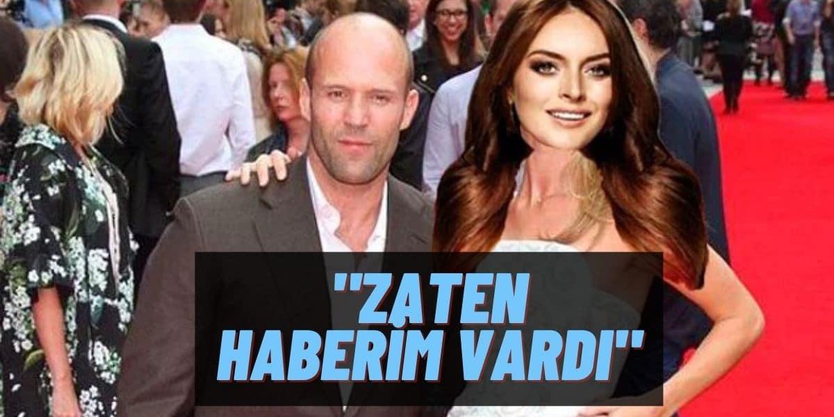 Zamanında Instagram'dan Yürümüştü! Jason Statham'ın Türkiye'ye Geleceğini Öğrenen Ezgi Mola Yine Coştu!