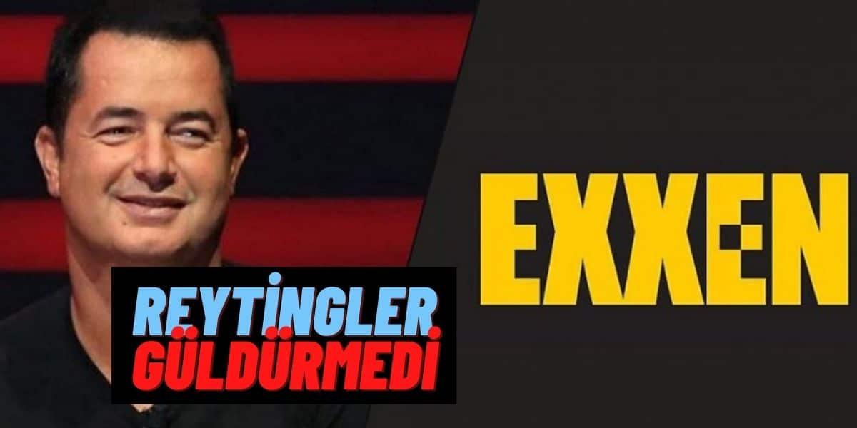 Exxen Dün Akşam Reyting Hüsranı Yaşadı! Exxen Dizilerinin İlk Bölümlerinin Reytingi Kötü Geldi