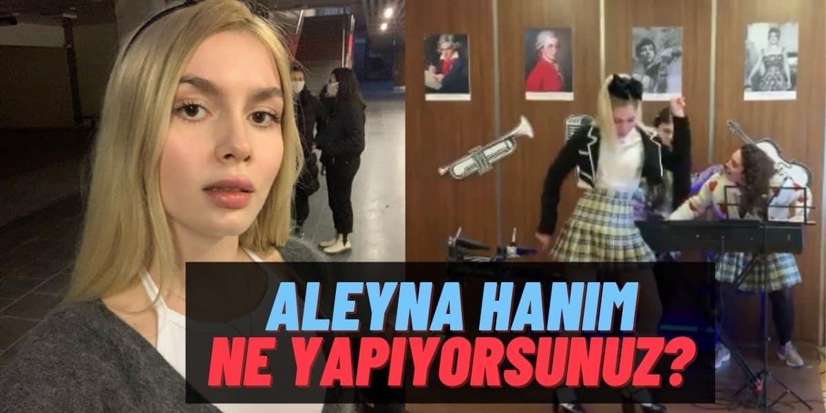 """Aleyna Tilki Bu Benim Masalım Set Arasında Ankara Havası Oynadı Takipçileri Çıldırdı: """"Bir Daha Oynama!"""""""