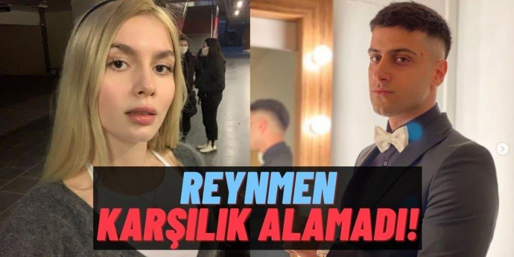 """Fenomen Reynmen Beraber Programa Katıldığı Aleyna Tilki'den """"GT"""" Alamayınca Sosyal Medyanın Diline Düştü!"""
