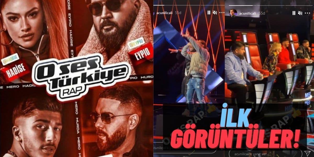 O Ses Rap İçin Soluğu İstanbul'da Alan Acun Ilıcalı Çekimlerden Video Paylaştı: O Ses Rap'ten İlk Görüntüler!