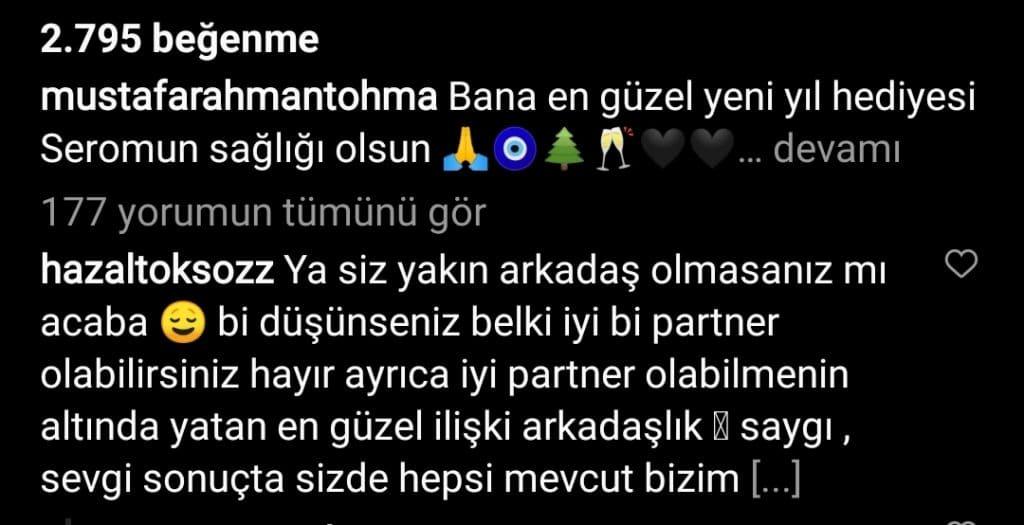 Mustafa Rahman Tohma yorum