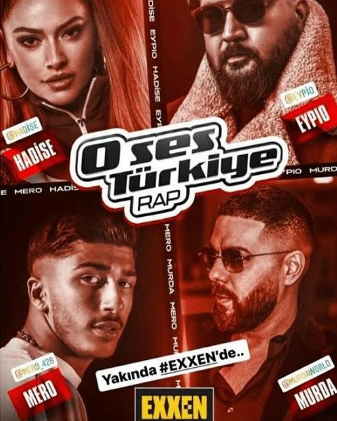 O Ses Türkiye Rap jürileri