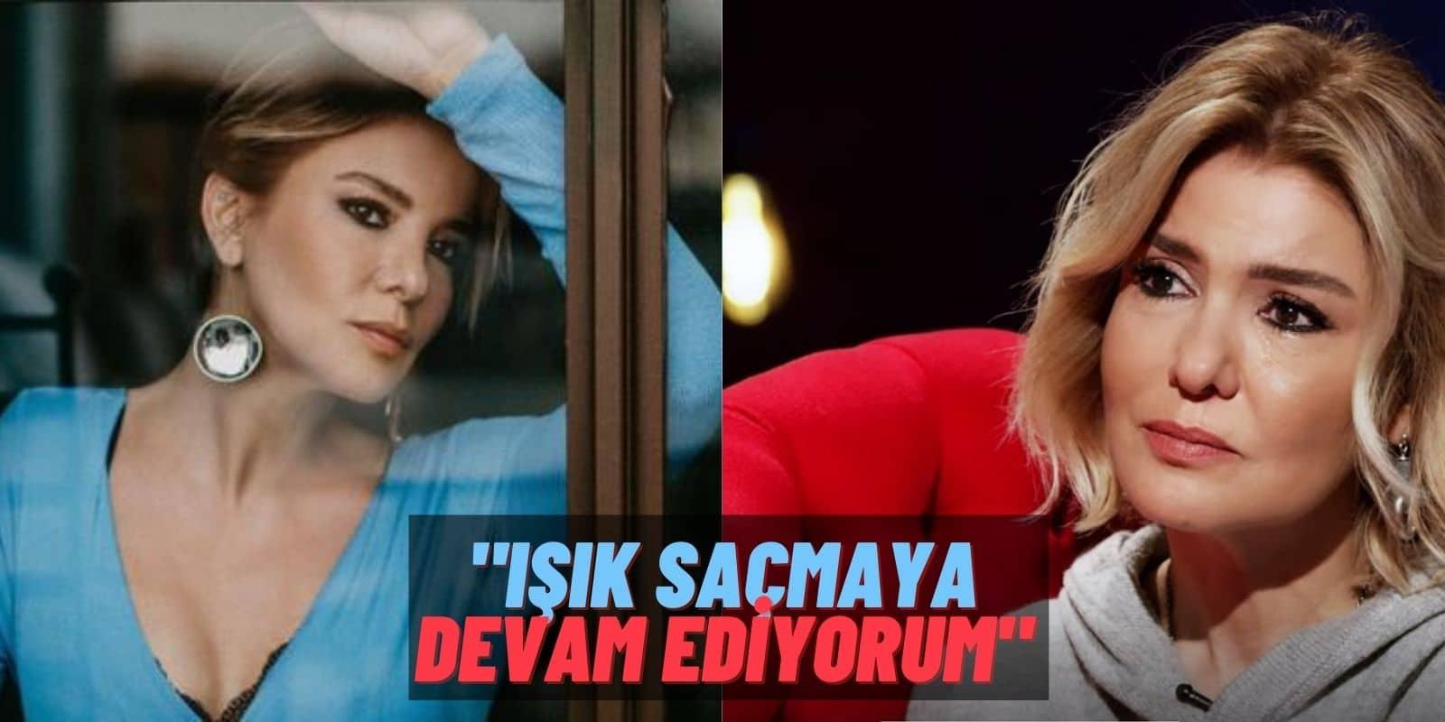 """""""Bana hiçbir şey olmaz"""" Diyen Gülben Ergen Fikrini Değiştirdi: """"Rüzgar esse kırılan bir yüreğim var!"""""""