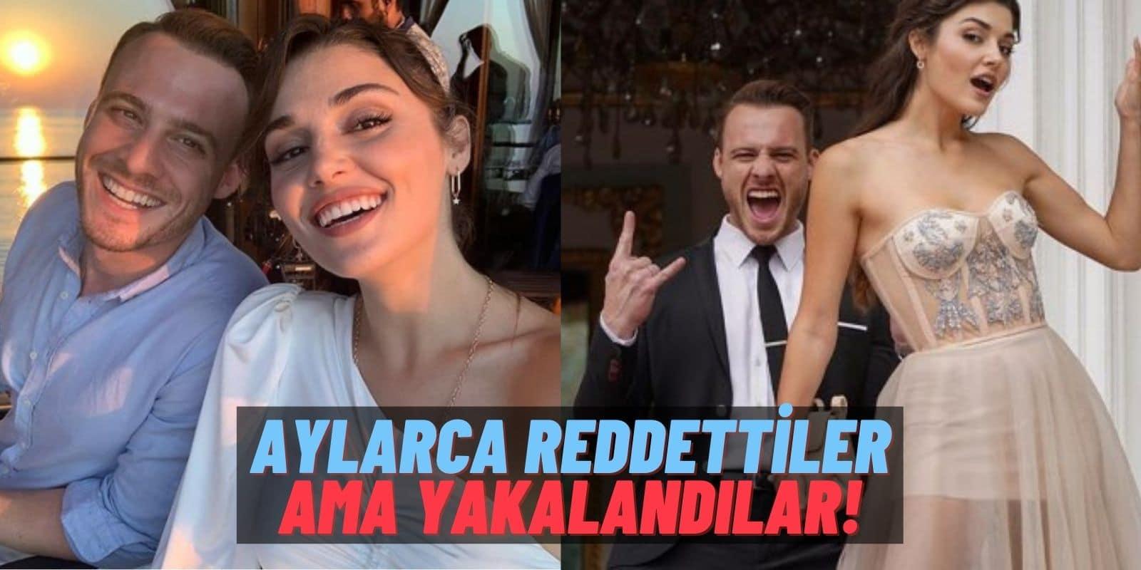 Kerem Bürsin ve Hande Erçel Aylarca Aşk İddialarını Reddetti Fakat Yakalandılar: Aynı Evde Yaşıyorlar!