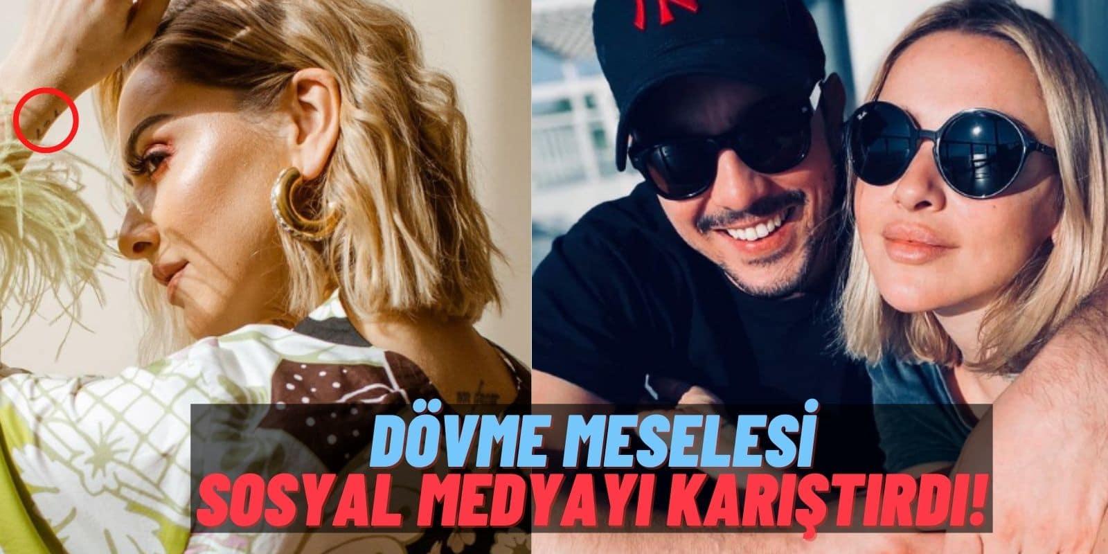 Güzel Şarkıcı Hadise'nin Yeni Dövmesi Sosyal Medyayı İkiye Böldü: O Dövme Kaan Yıldırım İçin mi Yaptırıldı?