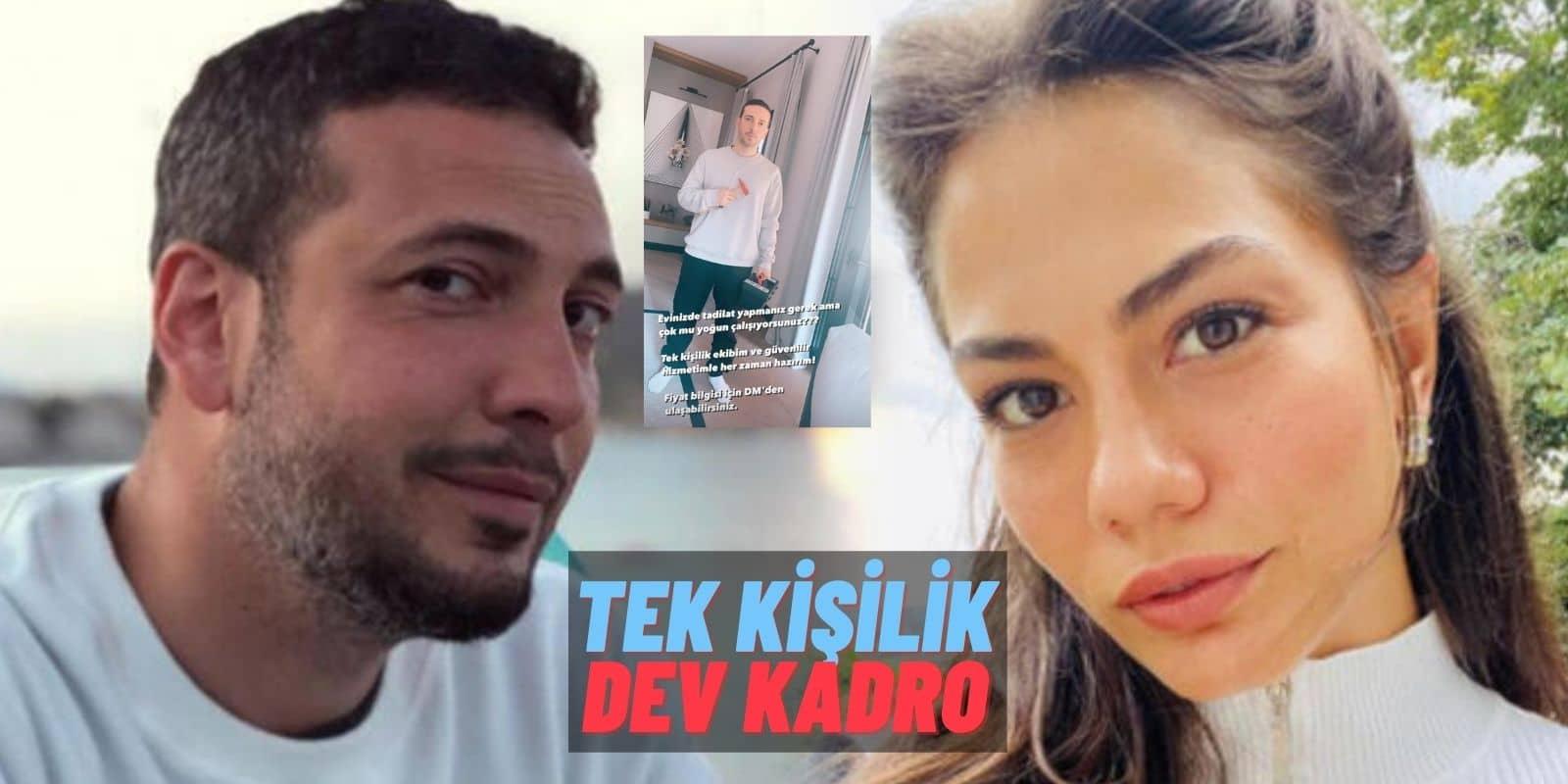 """Tam Birbirlerine Göreler! Demet Özdemir ve Oğuzhan Koç """"Villa Tadilatı"""" Haberleriyle Böyle Dalga Geçti"""