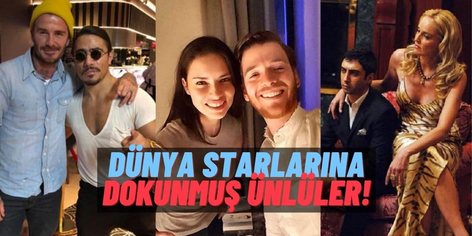 """Aleyna Tilki'den Önce Dünya Starlarına """"Dokunmuş"""" Ünlülerimiz: Metin Hara, Nusret, Acun Ilıcalı, Hülya Avşar…"""