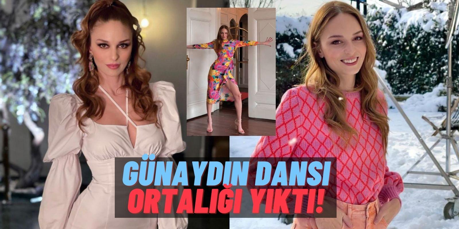 """Kerem Bürsin'le Aynen Aynen'de Başrolü Paylaşan Nilperi Şahinkaya'nın Seksi """"Günaydın"""" Dansı İçimizi Hoplattı!"""