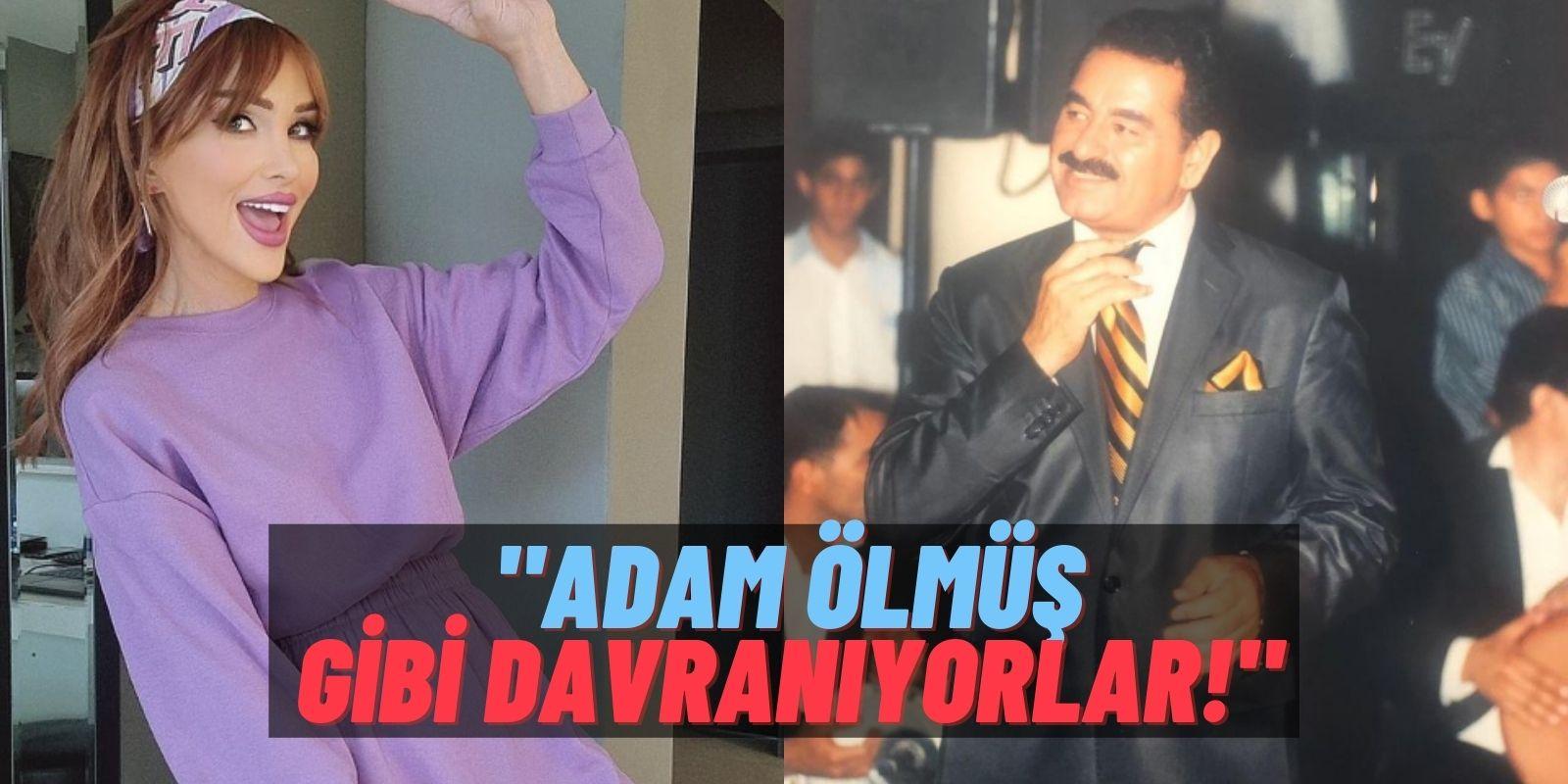"""Magazin Kraliçesi Seren Serengil İbrahim Tatlıses'in Ağlamasına Taktı: """"İmparatorluğunu Elinden Almayın!"""""""