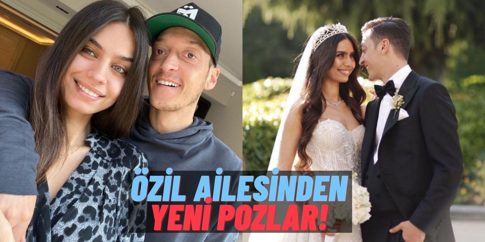 """Mesut Özil'in Eşi Amine Özil'den Kızı Eda'yla İçinizi Eritecek Yeni Paylaşımlar Geldi: """"Dünyam!"""""""
