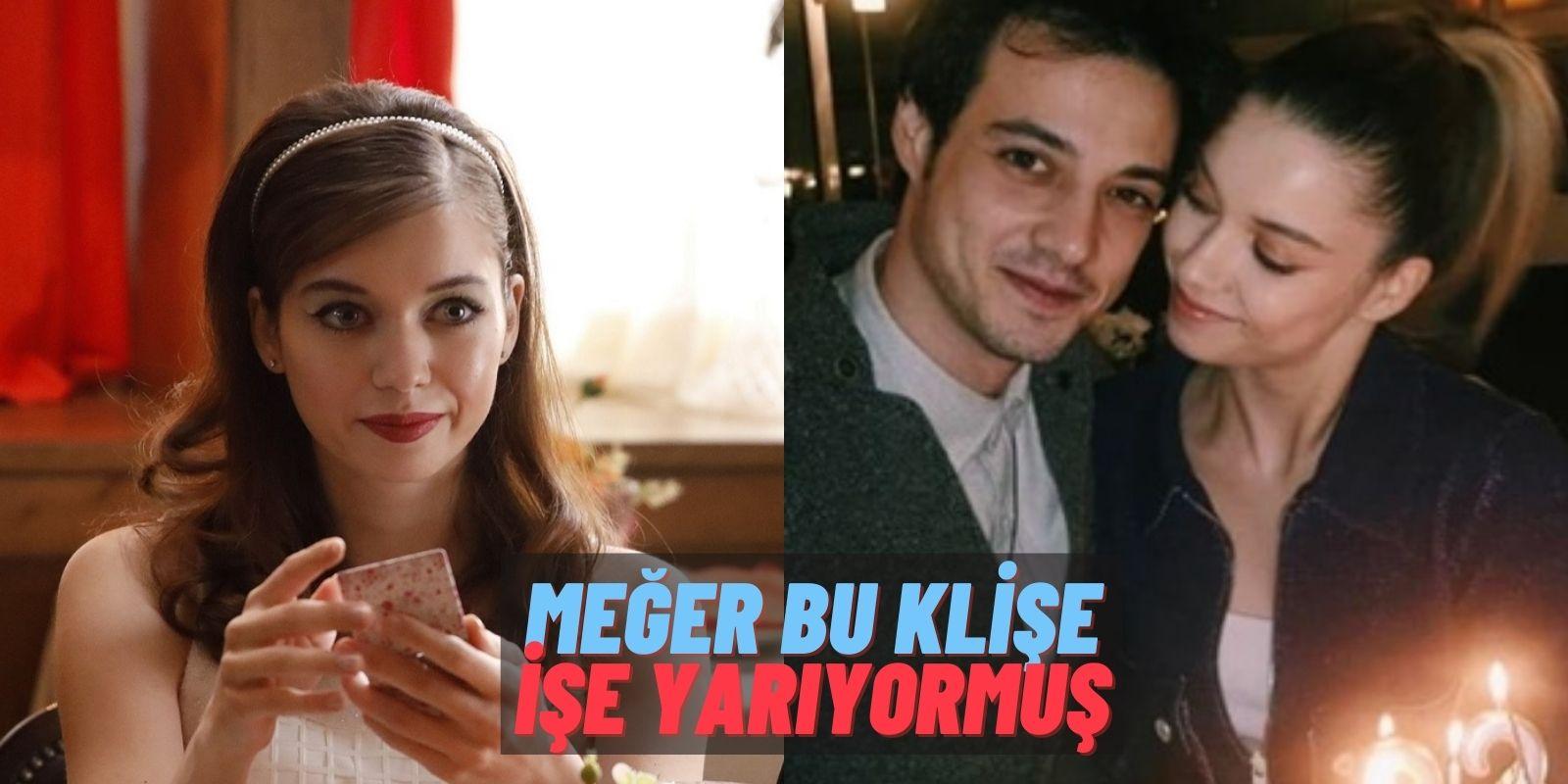 Aşk Böyle Başlamış! Yeşilçam'ın Yıldızı Afra Saraçoğlu'ndan Sevgilisi Mert Yazıcıoğlu'yla İlgili Şaşırtan İtiraf