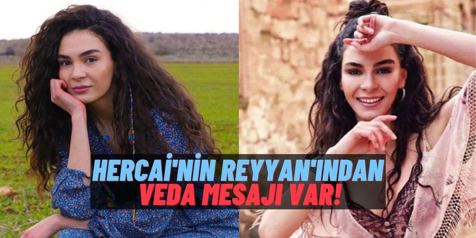 Hercai'nin Reyyan'ı Ebru Şahin'den Duygusal Veda! İlk Başladığım Yerdeyim