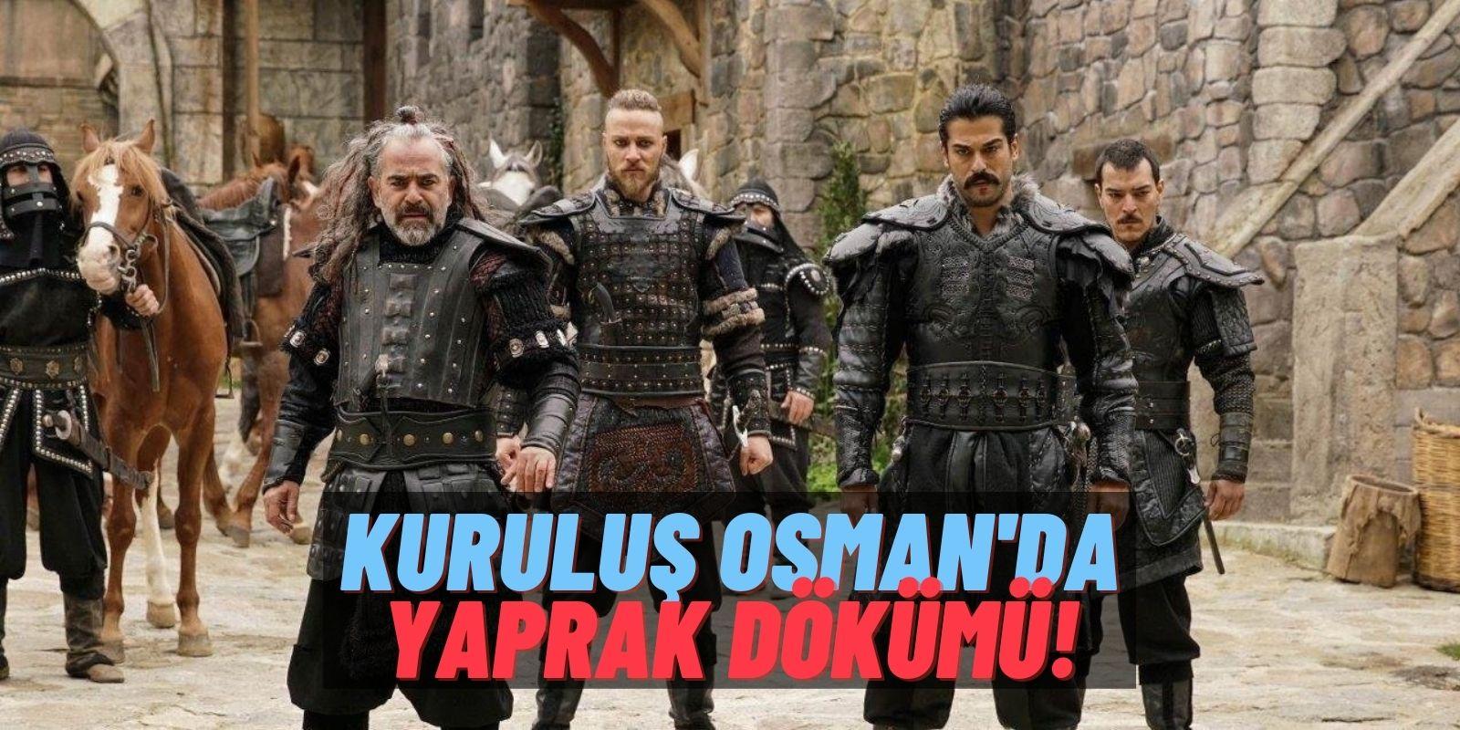 Kuruluş Osman'da Tecrübeli İsimler Birer Birer Ayrılıyor! Yeşim Ceren Bozoğlu ve Ragıp Savaş da Veda Etti