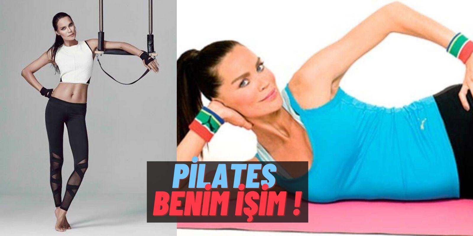 Pilatesi Kimselere Bırakmam Diyen Ebru Şallı Adeta Yıllara Meydan Okuyor! İşte Türkiye'nin Pilates Misyoneri
