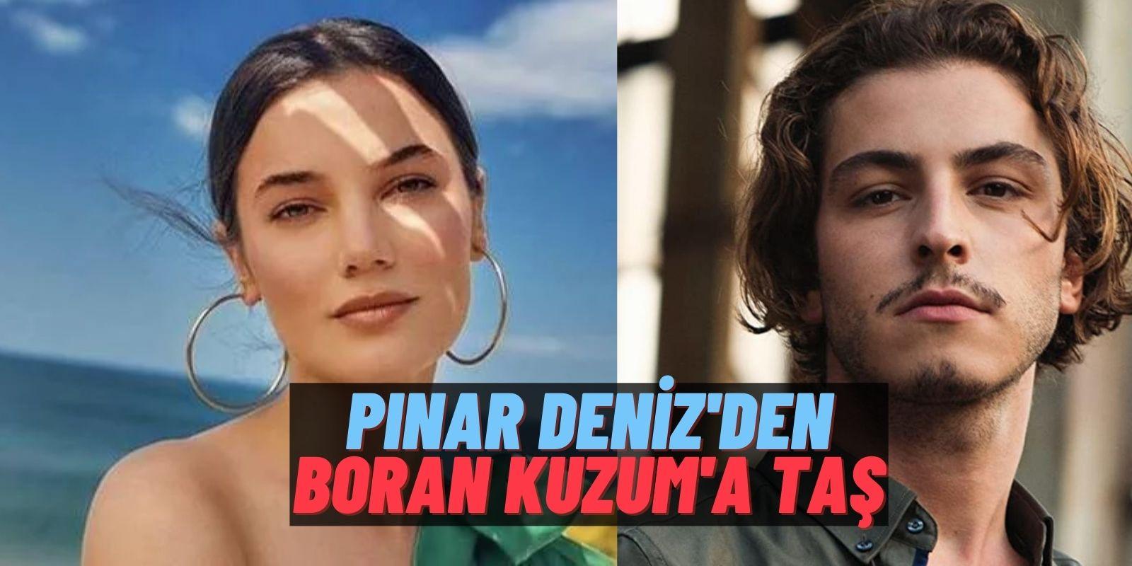 Pınar Deniz'den Boran Kuzum Hakkında Esprili Şikayet! Rol Arkadaşı İçin 'Çok Konuşuyor' Dedi