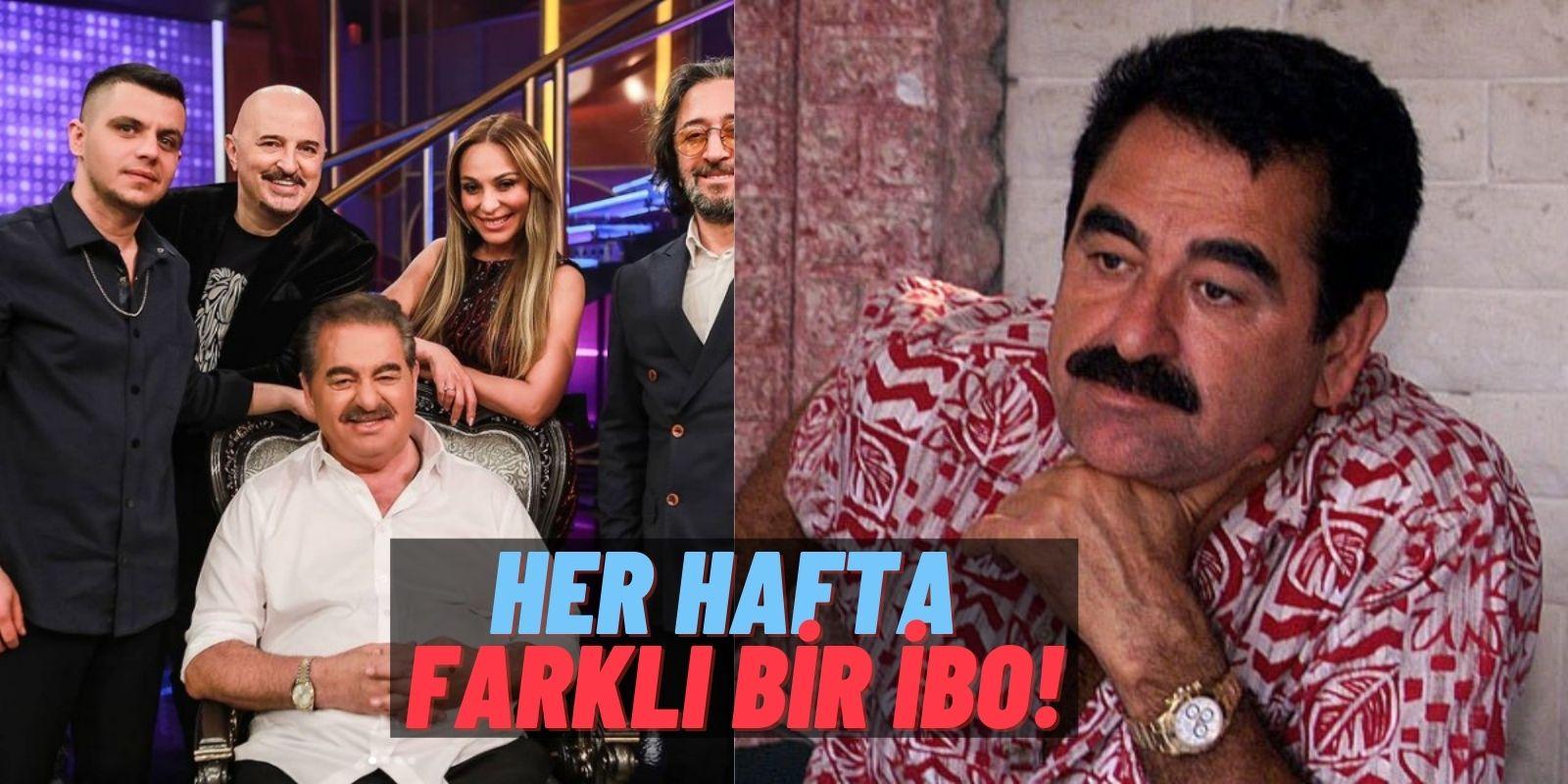"""İmparator Lakaplı İbrahim Tatlıses İbo Show'da Her Hafta İmaj Değiştiriyor! Bu Hafta """"Küllü Kumral!"""""""