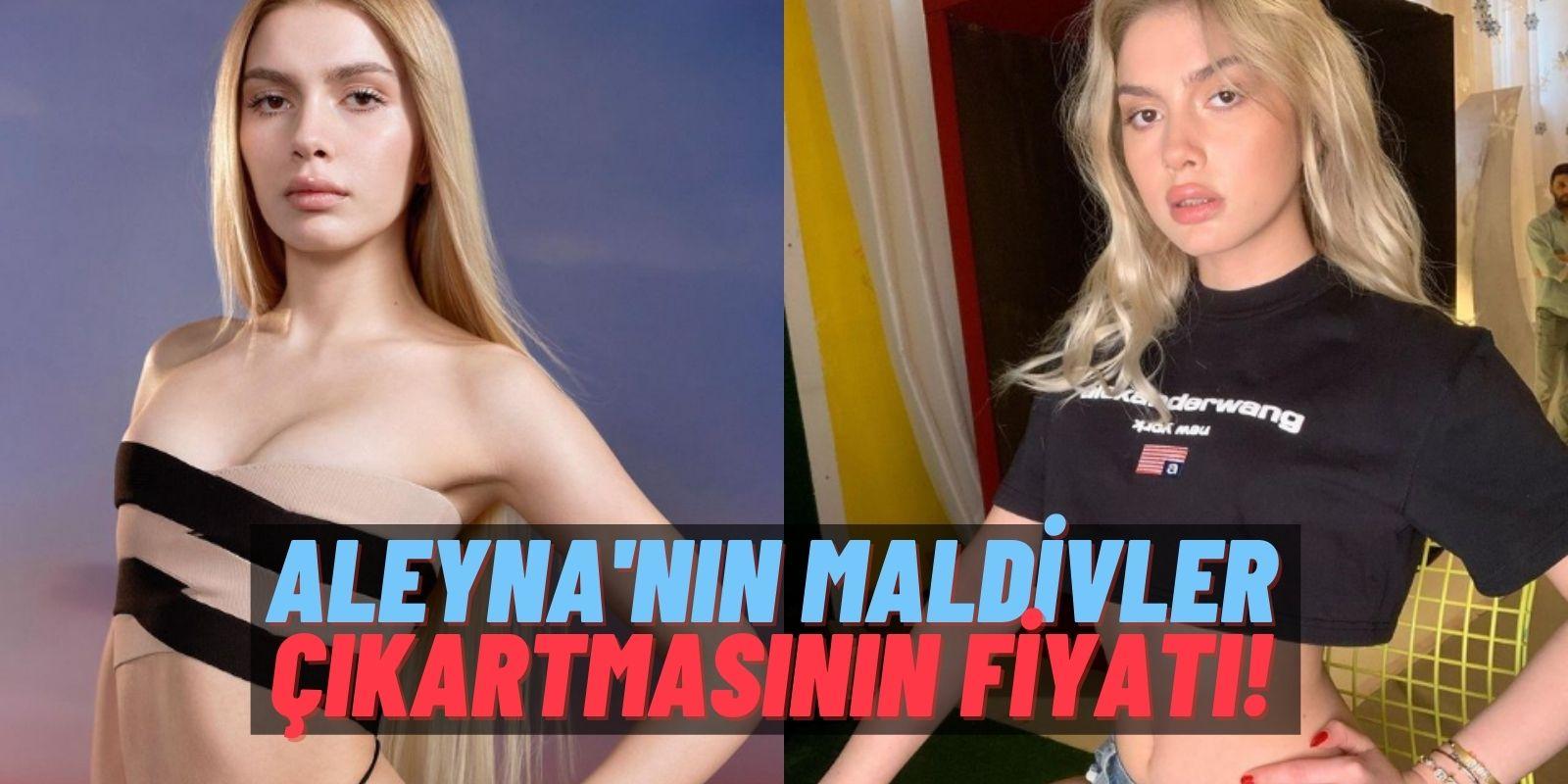 """Aleyna Tilki """"Retrograde"""" Başarısını Kutluyor! Maldivler Tatilinin Bedeli: Aleyna Tilki Ufak Bir Servet Ödemiş!"""
